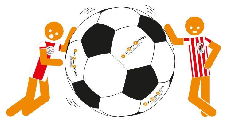 Van Mun Advies wedstrijdsponsor TOP –  Jong Ajax